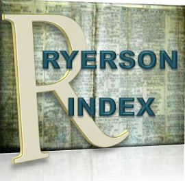 THE RYERSON INDEX